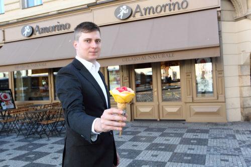 Světoznámé italské zmrzlinářství Amorino poprvé v Česku