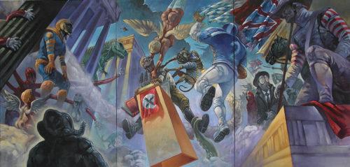 Špičkový komiksový autor Karel Jerie vystavuje v Galerii Portheimka