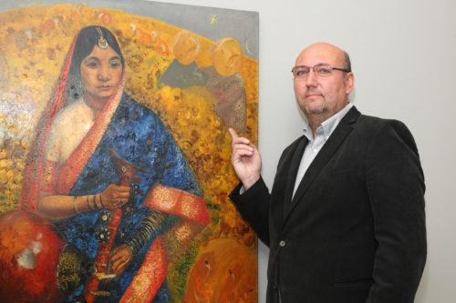 Rámájana, obraz pro světový trh s uměním. Nabídne ho aukce v Arthouse Hejtmánek