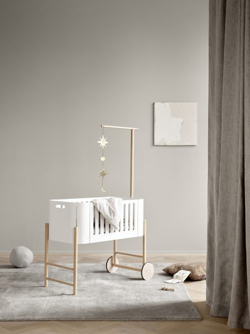 Vysněný pokojíček pro miminko. S postýlkou, do které se zamilujete