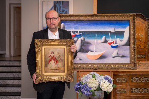 Obklopte se krásou. Aukční síň Arthouse Hejtmánek chystá aukci, nabídne díla přinášející klid a naději